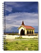Chapel By The Sea Spiral Notebook