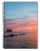 Charleston Harbor Sunset Spiral Notebook