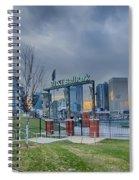 Charlotte Ballpark Spiral Notebook