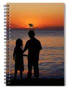 Cherish The Moment Spiral Notebook