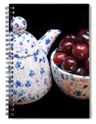 Cherries Invited To Tea Spiral Notebook