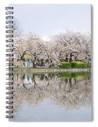 Cherry Blossoms In Tokyo Spiral Notebook