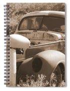 Chevrolet Rust Bucket Spiral Notebook