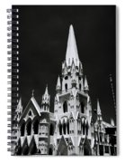 Black And White Basilica Spiral Notebook