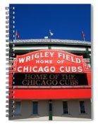 Chicago Cubs - Wrigley Field Spiral Notebook