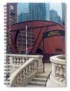 Chicago Riverwalk Spiral Notebook