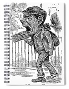 Chimney Sweep Spiral Notebook