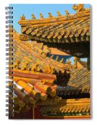 China Forbidden City Roof Decoration Spiral Notebook