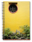 Chinese Temple Garden Detail In Vietnam Spiral Notebook