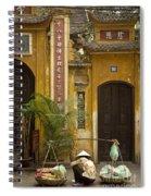 Chinese Temple In Hanoi Vietnam Spiral Notebook