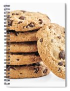 Chocolate Chip Cookies Spiral Notebook