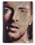 Chris Martin - Coldplay Spiral Notebook