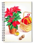 Christmas  Spiral Notebook