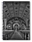 Church Of Saint Bernard Spiral Notebook