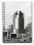 Cincinnati Black And White Panorama Spiral Notebook