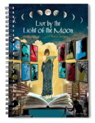 The New Learning Temple With Circe Spiral Notebook