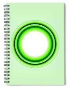 Circle Motif 145 Spiral Notebook