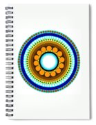 Circle Motif 214 Spiral Notebook