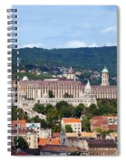 City Of Budapest Spiral Notebook