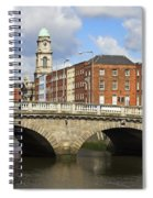 City Of Dublin Spiral Notebook