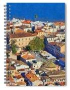 City Of Nafplio Spiral Notebook