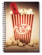Classic Vintage Cinema Spiral Notebook