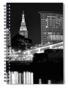 Cleveland Skyline Spiral Notebook