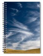 Clouds And Field Spiral Notebook