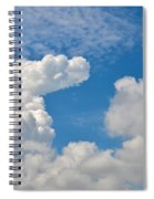Clouds In The Sky Spiral Notebook