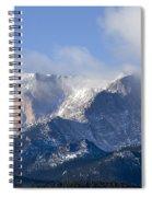 Cloudy Peak Spiral Notebook