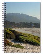 Coastal View - Ice Plant  Spiral Notebook