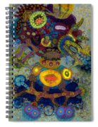 Coat Of Snow Spiral Notebook