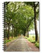 Cobblestone Country Road Spiral Notebook