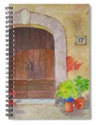 Color Me Tuscany Spiral Notebook