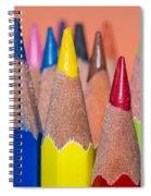 Color Pencil Spiral Notebook