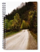 Colors Of Fall Series Zz Spiral Notebook