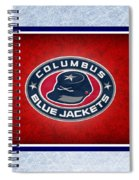 Columbus Blue Jackets Spiral Notebook