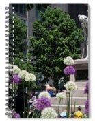 Columbus Circle Spiral Notebook