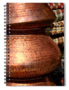 Copper Pots Spiral Notebook