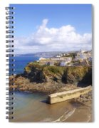 Cornwall - Port Isaac Spiral Notebook