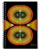 Cosmic Mitosis Spiral Notebook