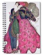 Costume Design For The Ballet La Spiral Notebook