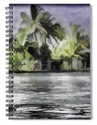 Cottage With Greenery All Around Spiral Notebook