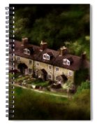 Country House In Bakewell Town Peak District - England Spiral Notebook