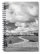 Country Living Bw Spiral Notebook