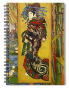 Courtesan  Spiral Notebook