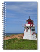 Covehead Harbour Lighthouse Spiral Notebook