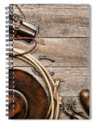 Cowboy Gear Spiral Notebook