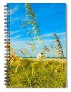 Crandon Park Beach Spiral Notebook
