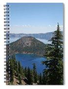 Crater Lake Oregon Spiral Notebook